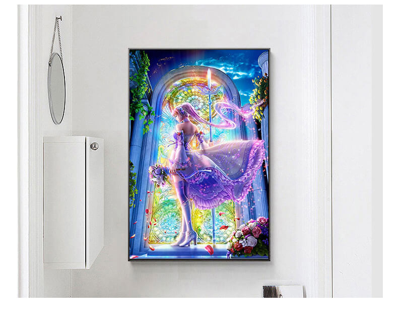 Diamond Painting - Valkyrie - Floating Styles - Diamond Embroidery - Paint With Diamond