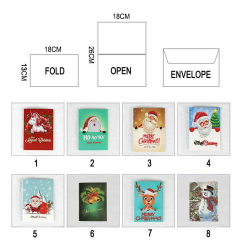 Christmas Diamond Painting Greeting Card -01 - Floating Styles - Diamond Embroidery - Paint With Diamond