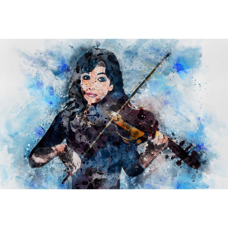Diamond Painting - Play Violin with Me
