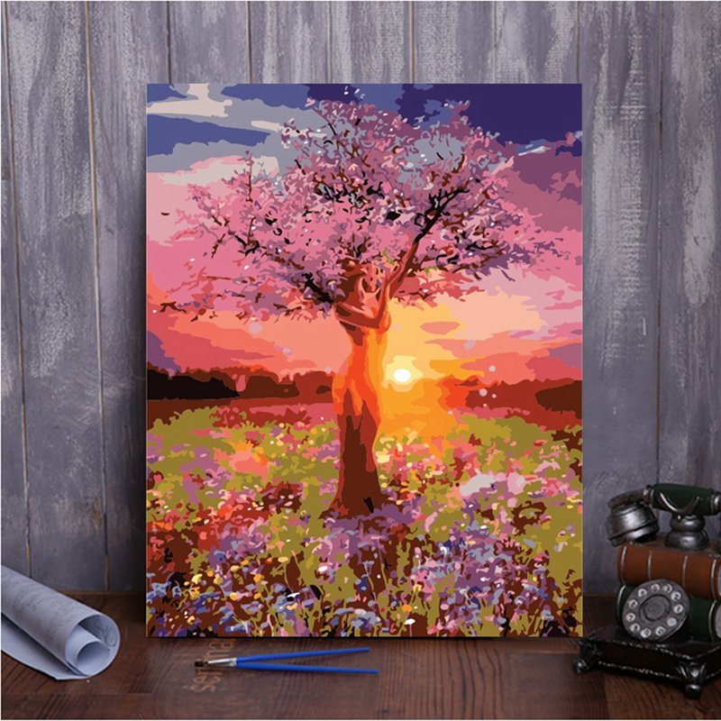 Paint by Numbers - Mother Tree - Floating Style - Diamond Haft - Paint With Diamond