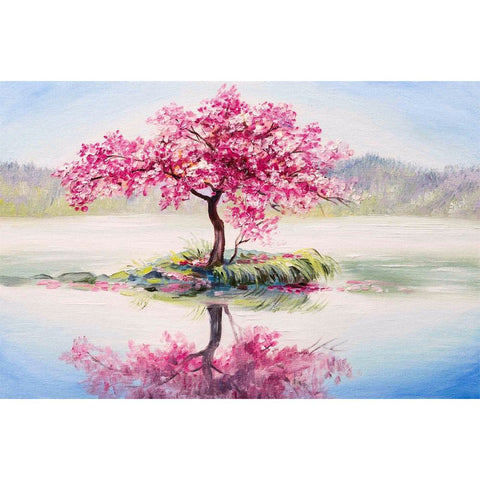 Image of Diamond Painting - Cherry Blooming