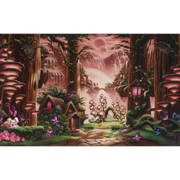 Diamond Painting - Fairy House - Floating Styles - Diamond Embroidery - Paint With Diamond