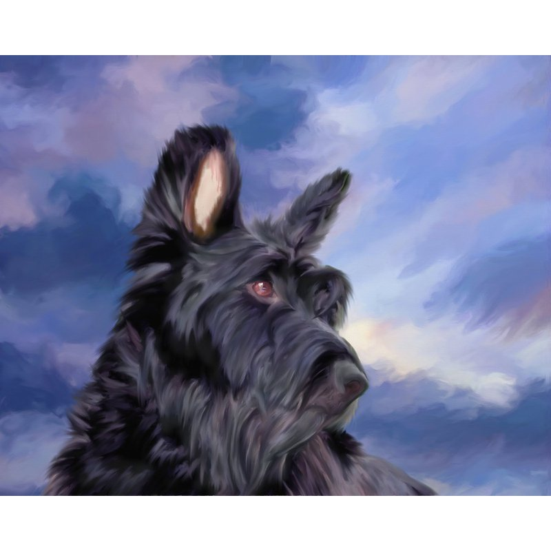Pintura Diamante - Scottish Terrier - 1