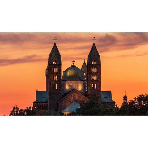Diamond Painting - Speyerer Dom Sunset