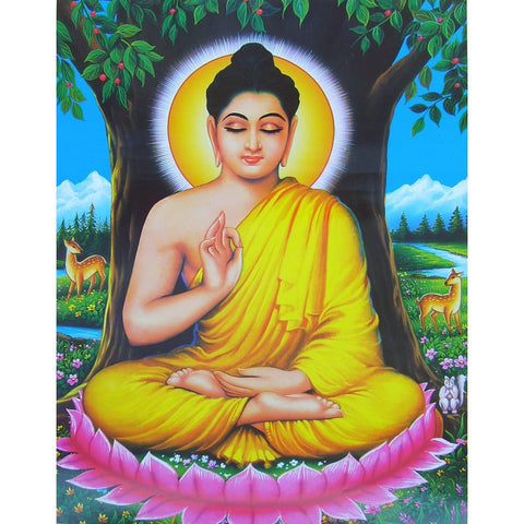Image of Diamond Painting - Gautam Buddha - 01