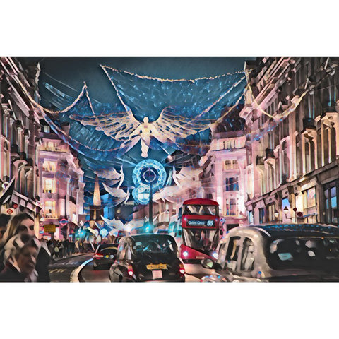 Diamond Painting - Street Chistmas의 사진