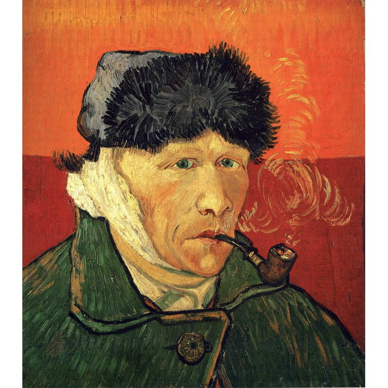 Diamond Painting - Van Gogh - Self Portrait With Bandaged Ear And Pipe