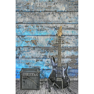 Diamond Painting - Lonely Eletric Guitar (FloatingStyle Art) - Drijvende stijlen - Diamond Embroidery - Paint With Diamond