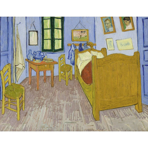 Afbeelding van Diamond Painting - Van Gogh - The Bedroom At Arles