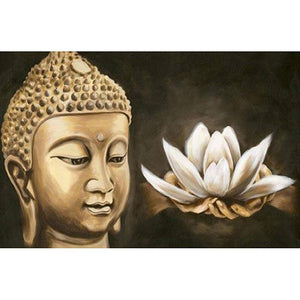 Pittura diamante - Buddha Lotus