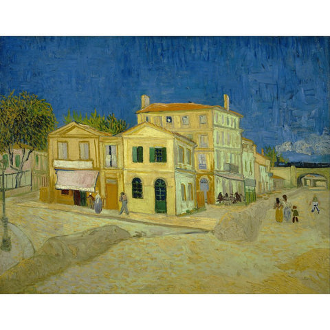 Image of Diamond Painting - Van Gogh - The Yellow House