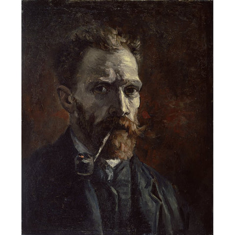 Image of Diamond Painting - Van Gogh - Self Portrait With Pipe