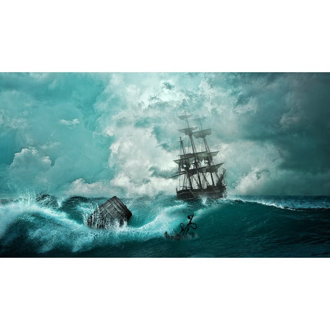 Diamond Painting - Storm Ship