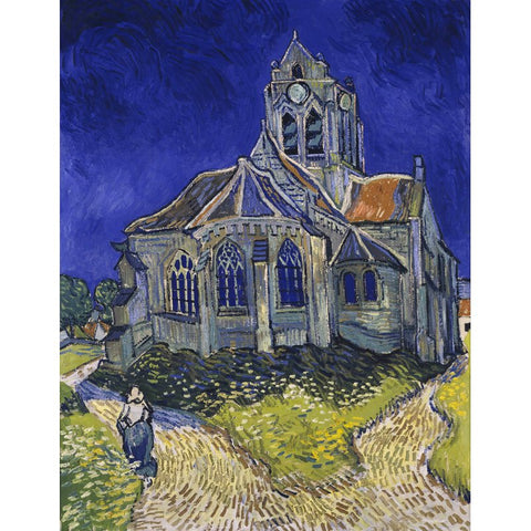 Afbeelding van Diamond Painting - Van Gogh - The Church at Auvers