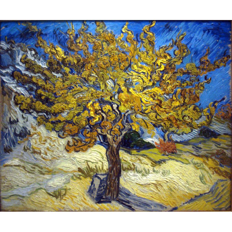 Diamond Painting - Van Gogh - The Mulberry Tree in Autumn