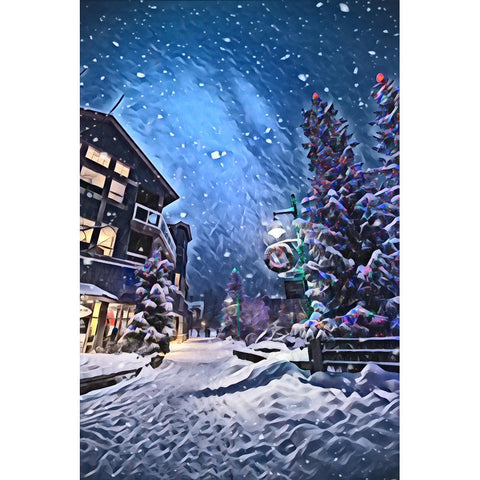 Imagem de Diamond Painting - Silent Christmas Tree
