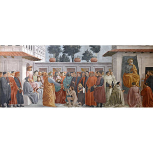 Pittura diamante - Italia Firenze affresco chiesa - stili galleggianti - diamante ricamo - vernice con diamante