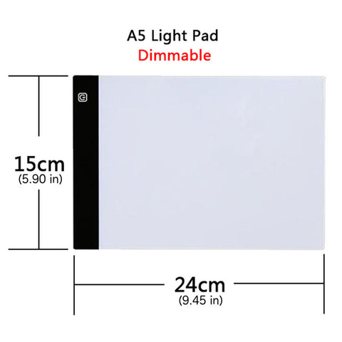 Image of Upgraded Dimmable Light Pad For Diamond Painting - Floating Styles - Diamond Embroidery - Paint With Diamond