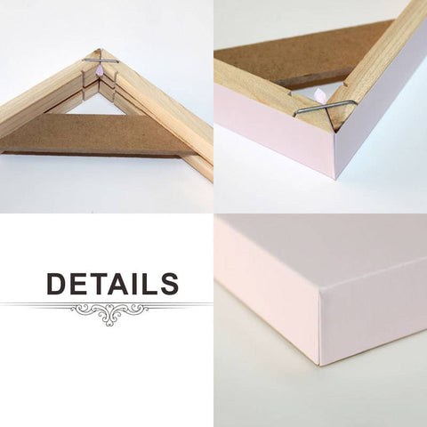 Diamantmaleri - Enkel DIY Canvas Stretcher Bars Frame - Flytende Stiler - Diamond Broderi - Maling Med Diamond