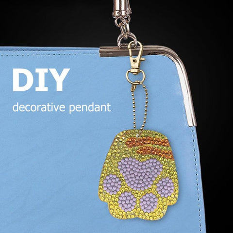 Imagem do DIY Diamond Painting Keychain