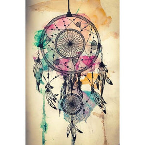 Diamantmalerei - Indian Dream Catcher - 17 - Floating Styles - Diamantstickerei - Malen mit Diamant