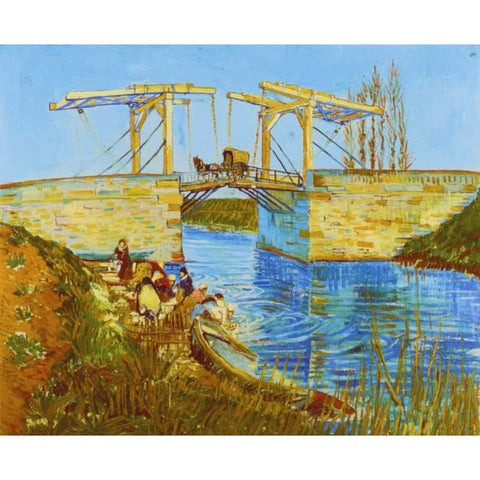 Immagine di Diamond Painting - Van Gogh - The Langlois Bridge at Arles