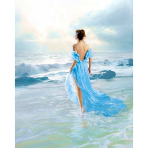 Diamond Painting - Walk On The Beach