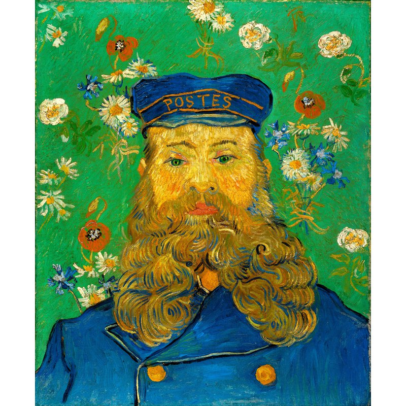 Diamond Painting - Van Gogh - Portrait of the Postman Joseph Roulin
