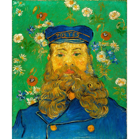 Image of Diamond Painting - Van Gogh - Portrait of the Postman Joseph Roulin