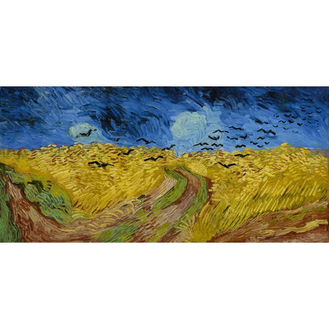 Image of Diamond Painting - Van Gogh - Wheatfield with Crows
