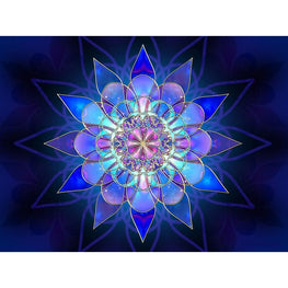Diamond Painting - Mandala - Floating Styles - Diamond Embroidery - Paint With Diamond