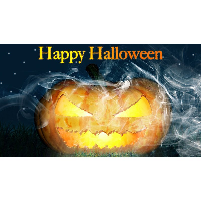 Diamantmalerei - Happy Halloween - 3 - Floating Styles - Diamantstickerei - Malen mit Diamant