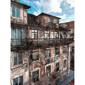 Diamond Painting - Old Facade