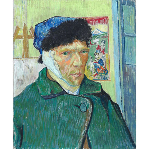 Image of Diamond Painting - Van Gogh - Self Portrait With Bandaged Ear
