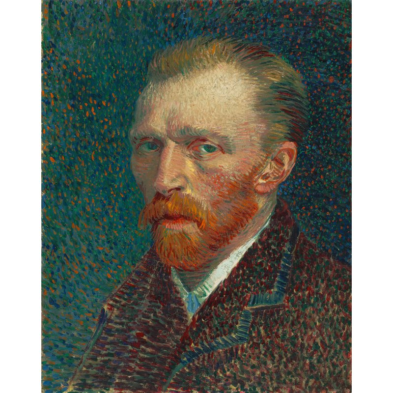 Diamond Painting - Van Gogh - Self Portrait - 03
