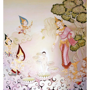 Diamond Painting - Buddha Purnima