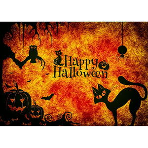 Diamantmalerei - Happy Halloween - 1 - Floating Styles - Diamantstickerei - Malen mit Diamant
