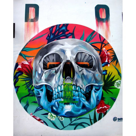 Diamond Painting - Skull Crystal Face