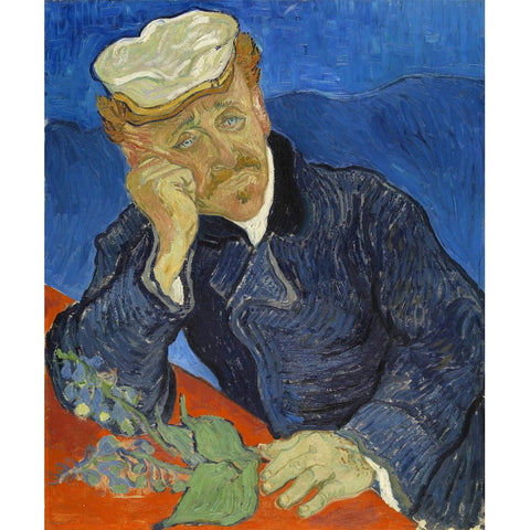 Image of Diamond Painting - Van Gogh - Portrait of Dr. Gachet