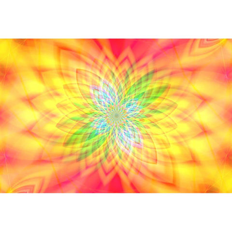 Image de Diamond Painting - Abstract Blossom