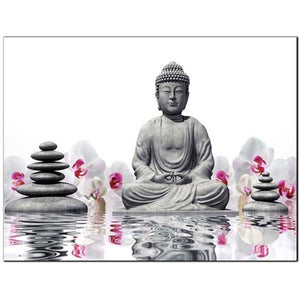 Diamantmalerei - Buddha & Zen - Floating Styles - Diamantstickerei - Malen mit Diamant