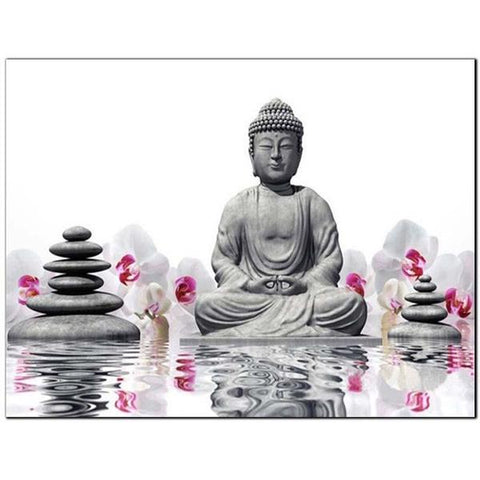 Immagine di Diamond Painting - Buddha e Zen - Stili fluttuanti - Diamond Embroidery - Paint With Diamond