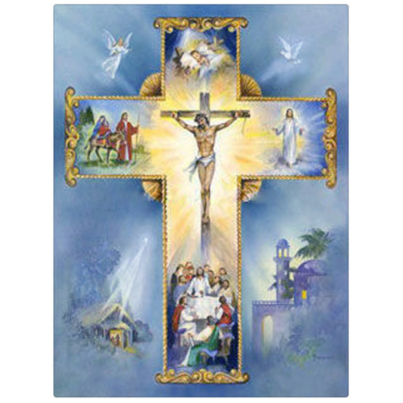 Diamond Painting - Jesus - Floating Styles - Diamond Embroidery - Dipingi con il diamante