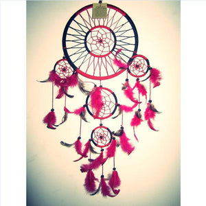 Diamond Painting - Indian Dream Catcher - 21 - Drijvende stijlen - Diamond Embroidery - Paint With Diamond