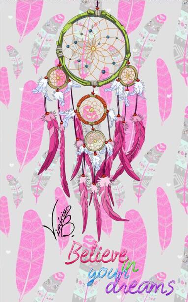 Diamond Painting - Indian Dream Catcher - 5 - Floating Styles - Diamond Embroidery - Paint With Diamond