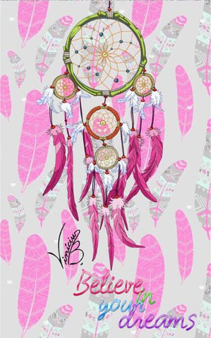 Image of Diamond Painting - Indian Dream Catcher - 5 - Floating Styles - Diamond Embroidery - Paint With Diamond