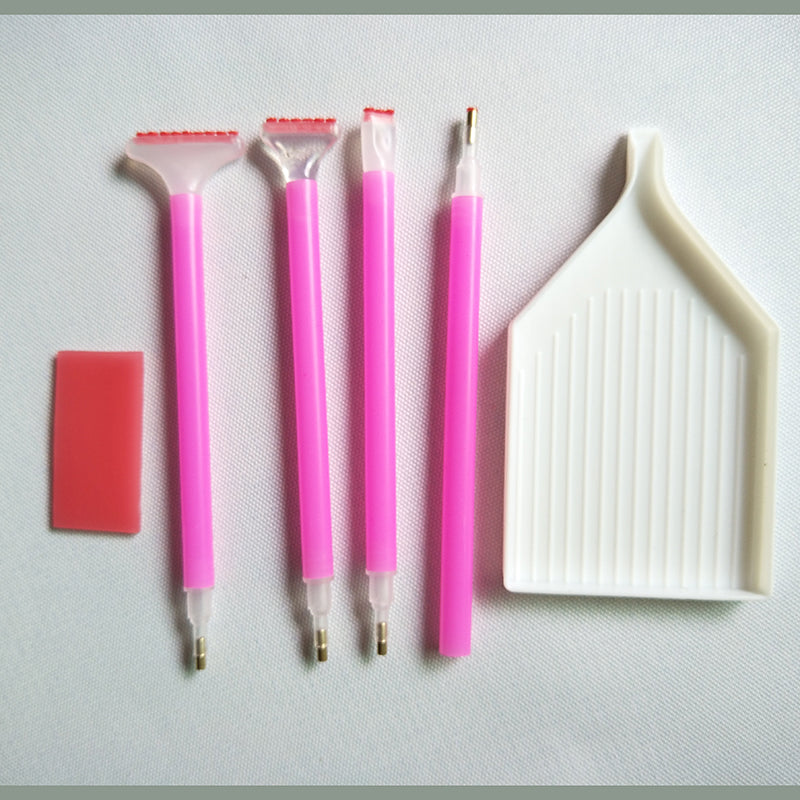 Diamantmaleri Basic Tool Set - Flytende Styles - Diamond Broderi - Maling Med Diamond