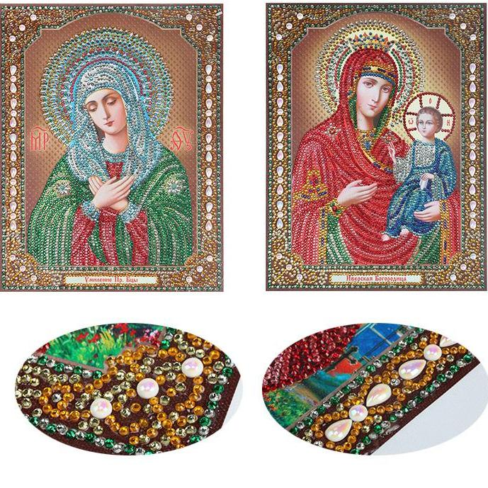 Bedazzled Diamond Painting - Religion - Floating Style - Diamond Haft - Paint With Diamond