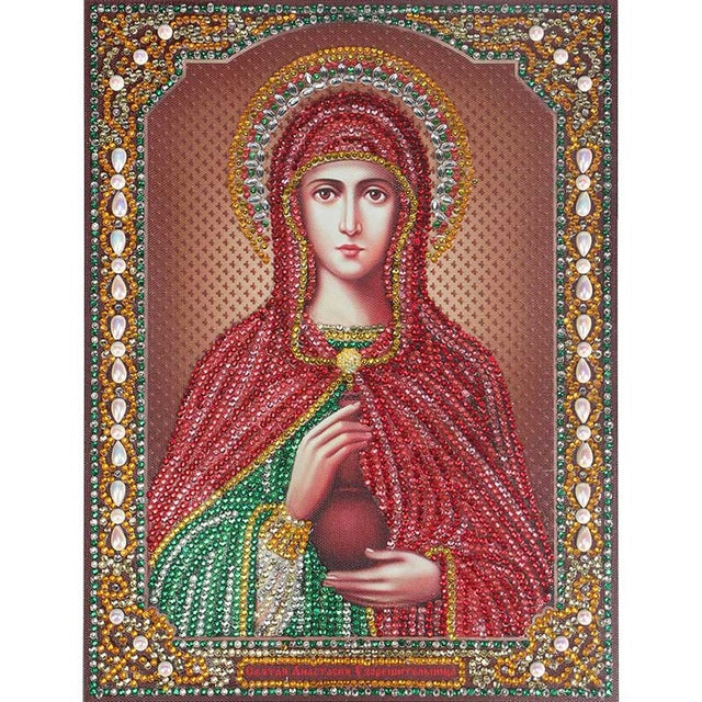 Bedazzled Diamond Painting - Religion - 9 - Floating Styles - Diamond Embroidery - Paint With Diamond