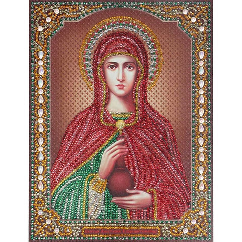 Image of Bedazzled Diamond Painting - Religion - 9 - Floating Styles - Diamond Embroidery - Paint With Diamond